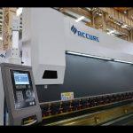 4 ašies CNC presavimo stabdžių mašina 175 tonų x 4000 mm CNC variklio karūnavimo