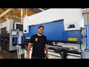 """6-ašies CNC presavimo stabdis """"Euro Pro B32135"""" su """"Wila Clamping System"""" per Australijos klientus"""
