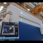 8 ašies CNC hidraulinis presas stabdis 110 tonų 3200 mm