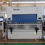 Kinija pagaminta hidraulinė cnc spaudos stabdžio nerūdijančio plieno lakštinio metalo lenkimo mašina