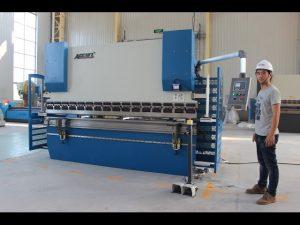 CE 2 ašies CNC presavimo stabdžių sistema 130Tx3200 E200 NC valdymo sistema NC stabdžių mašina