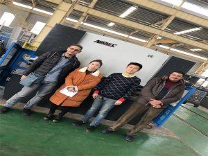 """Egipto klientai perka spaudos stabdžių mašiną iš """"Accurl"""" bendrovių"""