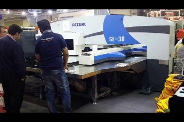 Aukštos kokybės servo cnc hidraulinės bokšto perforavimo mašinos