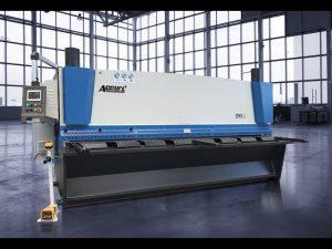 Hidraulinė giljotinos kirpimo mašina MS8 8x4000mm su Vokietijos ELGO P40T jutikliniu ekranu CNC
