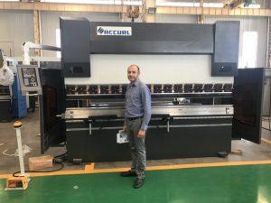 Irano klientų testavimo mašina mūsų gamykloje 1