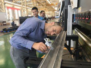 Irano klientų testavimo mašina mūsų gamykloje 2