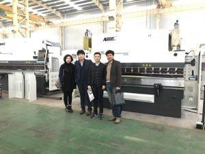 Korėjos klientai aplanko mūsų gamyklą