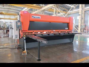 Pagrindinis kintamasis grėbtuvas su CNC hidraulinės giljotinos žirklėmis MS8-10x4000mm