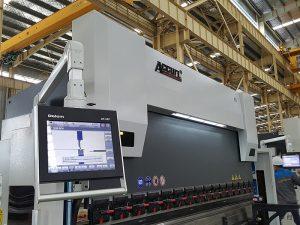 Delem DA52 hidraulinė lenkimo mašina, tiksli padėtis Horizontali presavimo stabdžių kaina, CNC kampo geležis