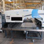 MAX-SF-30T hidraulinė štampavimo presavimo mašina cnc fanuc sistemos turėklų perforavimo mašina su amada įrankiais mašinų gamyba