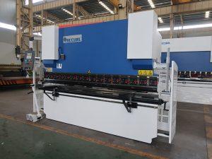 WC67Y hidraulinių presų stabdžiai, varinių lynų lenkimo staklės, CNC lenkimo staklės