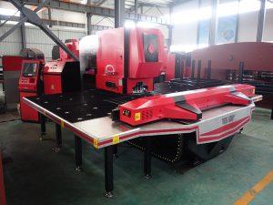 CNC turėklų perforavimo presas