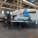 darbo stotis CNC turėklų perforavimo presas, CNC štampavimo staklės