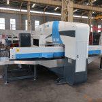 Siemens sistema cnc bokšto perforavimo mašina, automatinė skylių perforavimo mašina, cnc punch press kaina