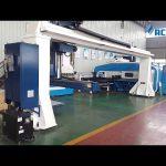 Gantry stiliaus 5 ašių CNC presas stabdžių robotas lenkimo / bokšto perforavimo paspauskite