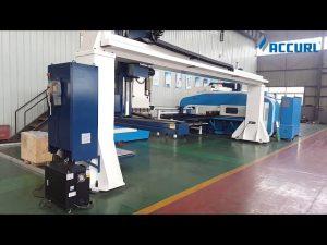 Gantry stiliaus 5 ašių CNC spaudos stabdžio roboto lenkimo / bokšto perforavimo presas