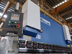 populiarus hidraulinis cnc spaudos stabdis su estun E210 valdymo sistema WC67Y- 125Ton / 3200mm su inžinieriaus paslauga