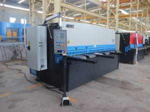 hidraulinės metalinės plokštės sūpynių sijapjovės mašina