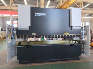 saugus naudojamas NC spaudos stabdžių tarnyba plieno lenkimo mašina 80T 2500mm WC67K