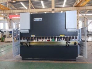 plokštės lenkimo staklės Wc67y 100t 3200 CNC nerūdijančio plieno hidrauliniai presai